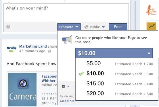 пиар в Facebook