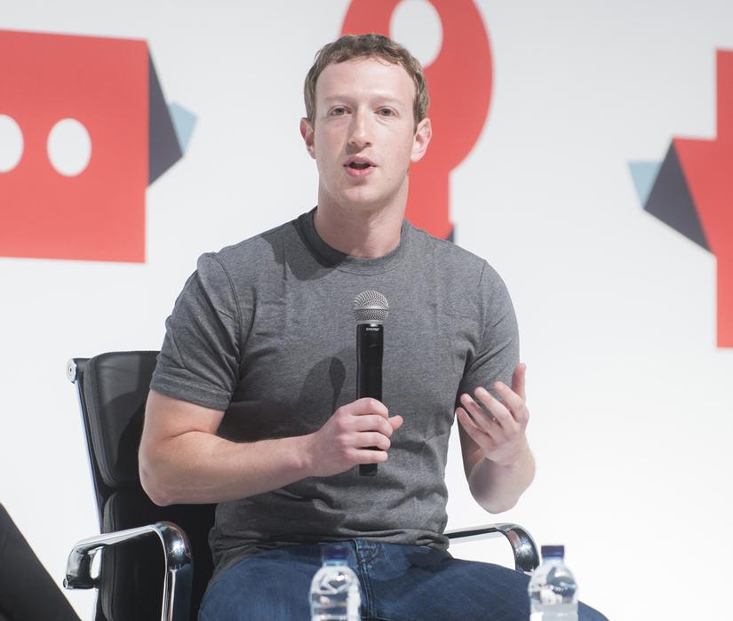 Марк Цукерберг, продвижение в социальных сетях